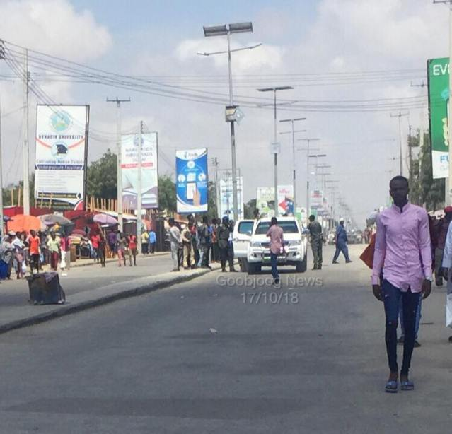 Security forces block main roads in Mogadishu – Goobjoog News English