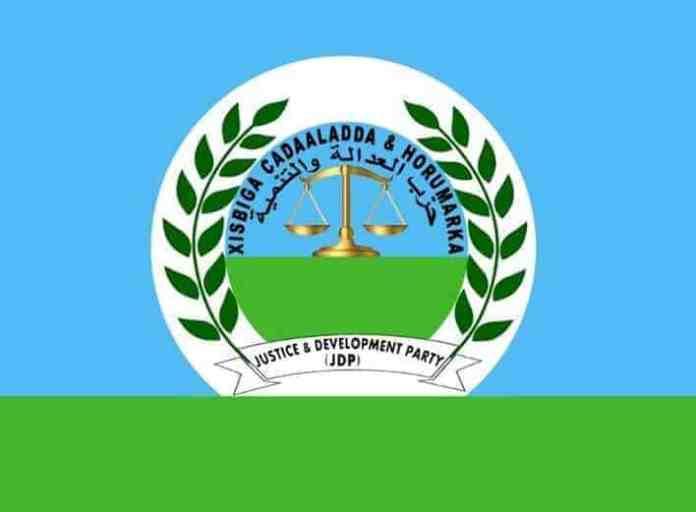 Xisbiga Cadaaladda iyo Horumarka oo Baaq u diray Dowladda Somalia, soona dhoweeyay…