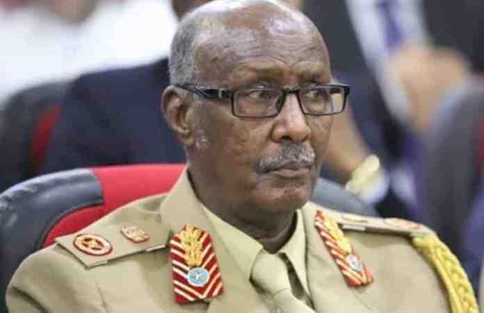 """Gen. Indha-qarshe: """"Waxaan kula talinayaa Madaxweynaha inaan dhowr bilood kadib la bedelin Taliyaha Ciidanka.."""""""