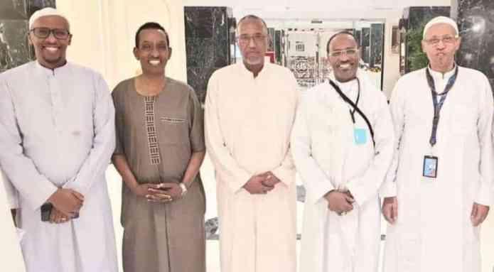Wasiir Arrimaha Dibadda oo War kasoo saaray Kulankii dhex maray Madaxweynaha Somaliland.
