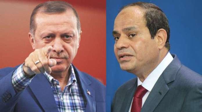 Madaxweynayaasha Turkiga iyo Masar hadallo kulul is-weydaarsaday & Erdogan digniin diray..