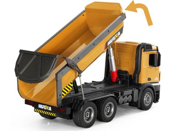 Big Scale RC Dump Truck Toy Car (2.4Ghz Radio Remote Control Electric Truck Toy)