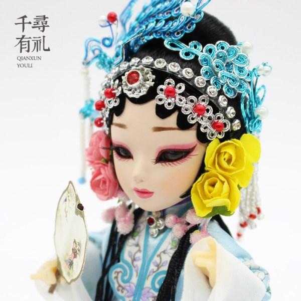 Chinese Crafts Gifts, Action Figures, Handicraft Silk Figurines, Silk Doll, Memorabilia, Souvenirs