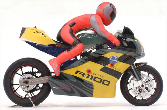 X-Rider RC Racing Motorbike, 1/4 Scale Model Motorcycle, 2.4G Radio Control On Road Moto Bike, RTR Electirc BX4004 Motorcycle Toy.