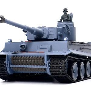 "- ""Tiger 1"" - Remote Control Scale Model Tank (WWII German Tiger Tank / Tiger I Tank 1/16 Scale RC Toy Tank)"
