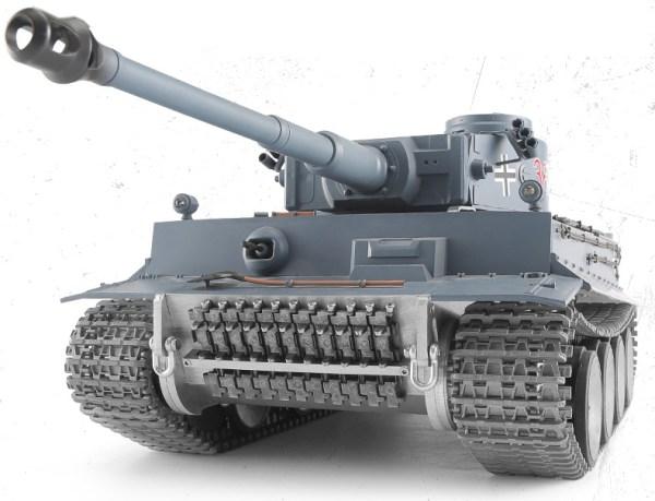 "-""Full Metal Chassis""- Panzerkampfwagen VI Tiger Ausf. E RC Panzer, (Tiger I World War II German heavy RC tank Scale Model)"