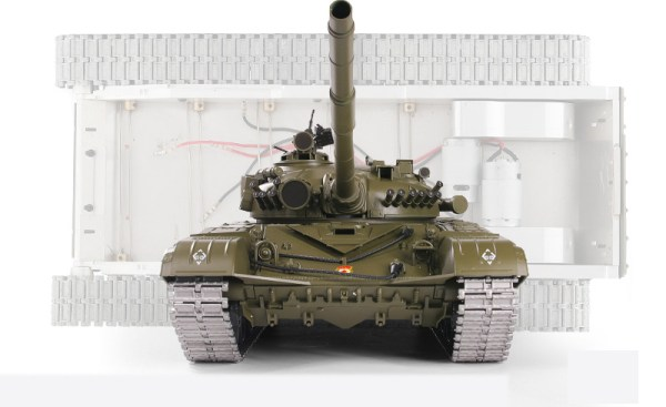 """-""""Full Metal Chassis""""- Soviet T-72 Russia Main Battle Tank (MBT) Remote Control 1/16 Scale Model Tank"""