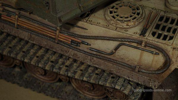"-""Most Like a Real Tank""- Drawn by model maker master ""Tiger II"" Scale model RC Tank (""Panzerkampfwagen Tiger Ausf. B"" / ""King Tiger tank"" / ""Tiger B"" / ""Sd.Kfz. 182."" / ""K?nigstiger tank"" / ""royal tiger tank"" / ""bengal tiger tank"")"