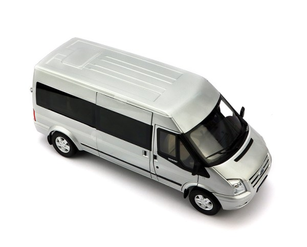 """1/18 Scale Ford Transit Vans Diecast Scale Model Car, Ford Transit Connect Wagon """"New Era Transit"""" Metal Scale Model Car/ Van."""