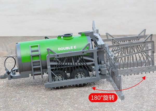 """-""""Simulation RC Farm Tractor With Drip Irrigation System""""- Electric Remote Control Tractor Toy Drag The Drip Irrigation Water Tank (Outdoor Children's Farmer Game, Agricultural Equipment, Farm Vehicle Toy)"""