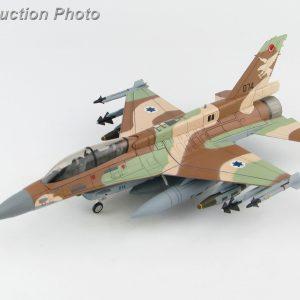"Hobby Master Collector 1/72 Air Power Series HA3873 Israel Air Force General Dynamics F-16D Barak, Lockheed Martin F-16D Barak 074, 109 Squadron ""UAV Killer"" (Airplanes Diecast Model, Military Aircraft Scale Model)"