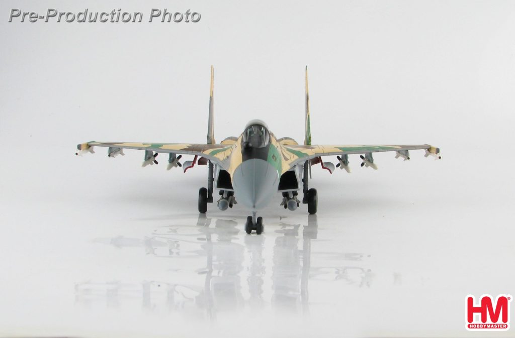 """Hobby Master Collector 1/72 Air Power Series HA5706 Russian Air Force Su-35 Flanker """"Prototype"""" 901, MAKS-2007 Airshow, Zhukovskij, August 2007 (Military Airplanes Diecast Model, Pre-built Aircraft Scale Model)"""