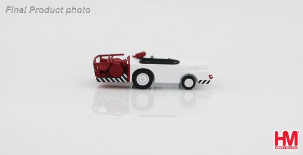 Hobby Master 1/72 Diorama HD2003B USN Fire Tractor (For Military Airplanes Diecast Model, Pre built Aircraft Scale Model)
