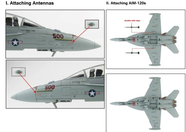 """Hobby Master Collector 1/72 Air Power HA5151 Boeing EA-18G Growler American Carrier-Based Electronic Warfare Aircraft, 166894, VAQ-132 Aviano AB, 2011 """"Operation Odyssey Dawn"""" (Military Airplanes Diecast Model, Pre-built Aircraft Scale Model)"""