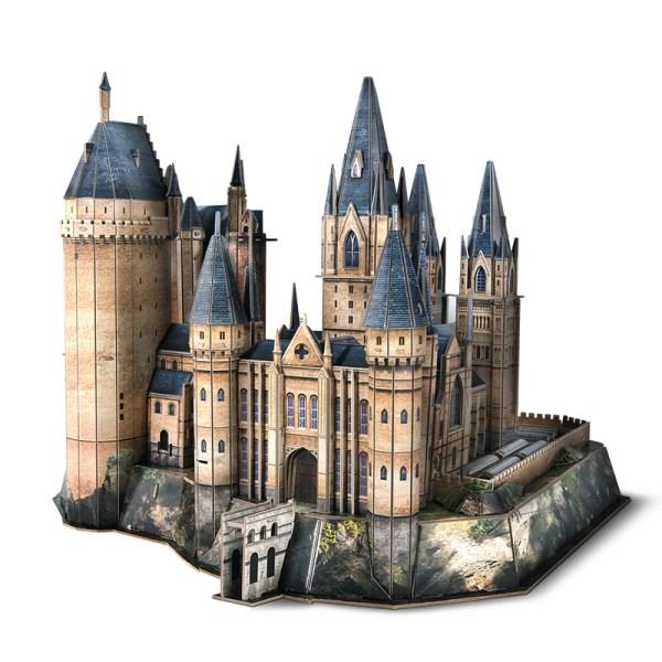 Harry Potter Hogwarts Astronomy Tower 3D Jigsaw Puzzle, (Cubicfun Toys (Cubic-Fun DS1012H) Paper 3D Puzzles, DIY Castle Building Toy, Home Toys, Parent-child Toys)
