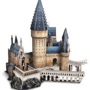"""""""Hogwarts Great Hall"""" Paper 3D Puzzle, Almost 100% Copy The Harry Potter Movie Scene.---(Cubicfun Toys (Cubic-Fun DS1011H) Paper 3D Puzzles Handmade Building the Castle Toys Piece by Piece)"""