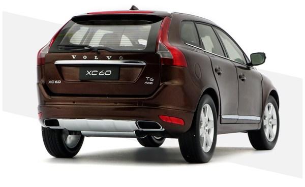 Volvo xc60 2018 2019 2020 Brown color Scale Model Car diecast model car collectible model car collector toy car hot wheels collectors