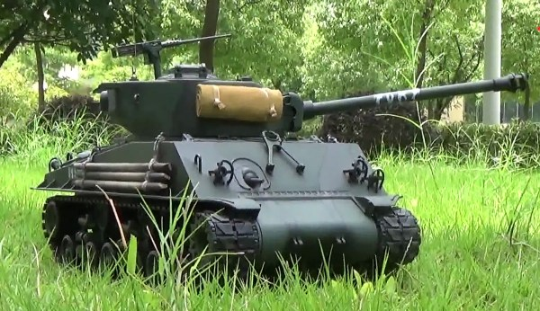 The M4 was the second most produced tank of the World War II era, after the Soviet T-34, and its role in its parent nation's victory was comparable to that of the T-34.