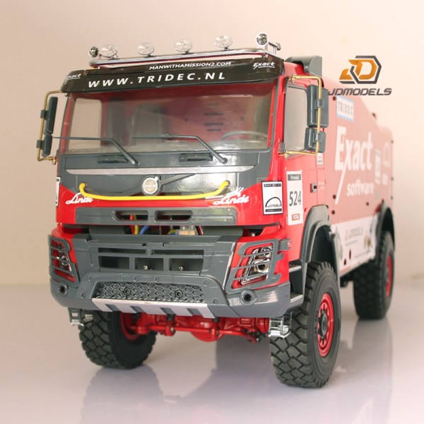 Details about 1/14 RC RTR Scale Dakar Rally Truck All metal alloy parts Heavy HD RC4WD Scaled, DAKAR GINAF X2222 No.525 WSI Top Truck 1:50 + BOX