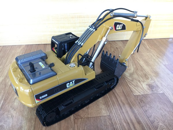 HUINA 580 & HUINA 1580 Full Metal RC Excavator Upgrade To RC Hydraulic Crawler Excavator Scale Model (CAT Caterpillar 336 336D Hydraulic Excavator Radio Remote Control Construction Equipment