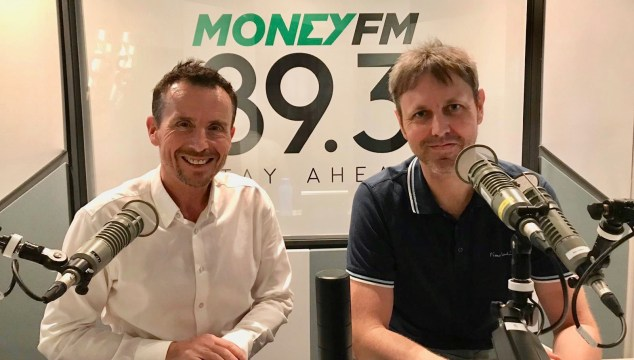 Broadcaster Jason Dasey and author Neil Humphreys have both had the experience of the sudden death of someone in their family.