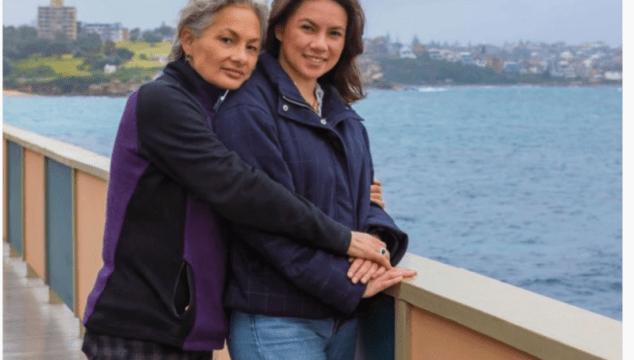 Jill Emberson and Malia Emberson-Lafoa'i courtesy Brent Wilson, Australian Story