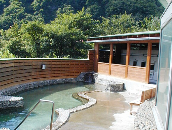 Hamamasu Recreation Center in Hamamasu Onsen