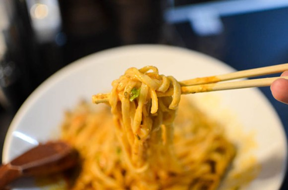 Soupless Dandan Noodles with Tingling -175Deno Head Office in Sapporo-