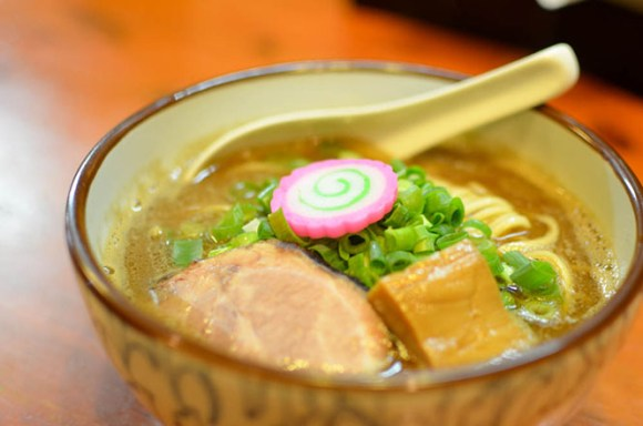 Soy Sauce Ramen with Seafood Flavors -Menya Takahashi in Sapporo-