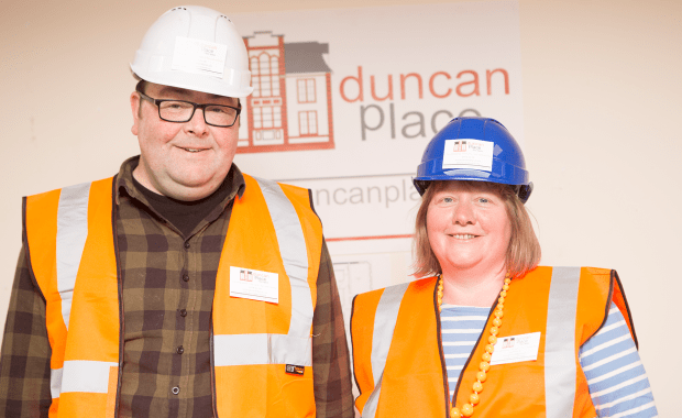 Nicola Lamberton & Keith Murray, Duncan Place