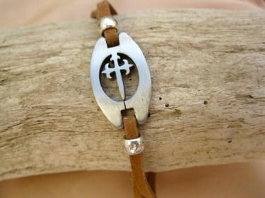 Camino bracelet Christian symbol