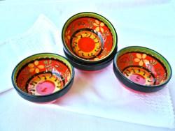 Spanish pottery bowls