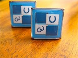 Lucky horseshoe cufflinks