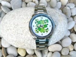 Clover shamrock watch