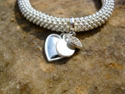 Symbolic bracelet - heart