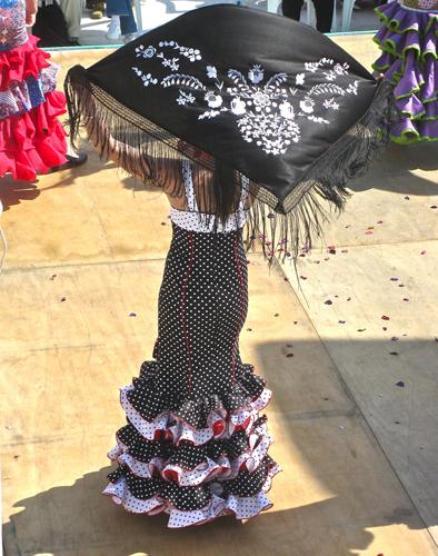 spanish shawl