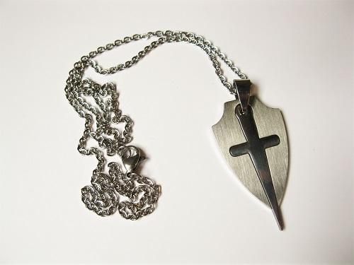 Safety jewellery necklace Templar
