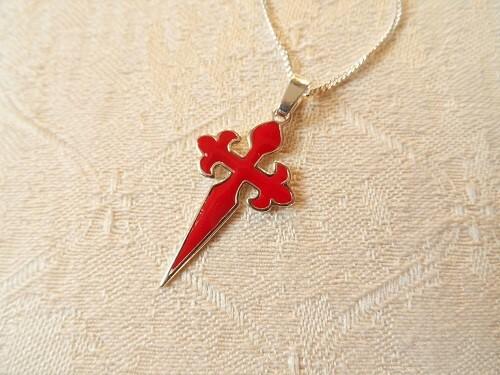 Cross of Saint James necklace
