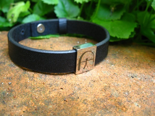 Indalo bracelet of leather