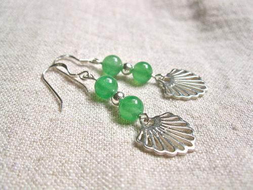 Aventurine earrings for confidence