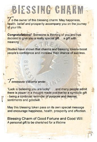 Blessing charm info