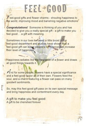 Feel good gift