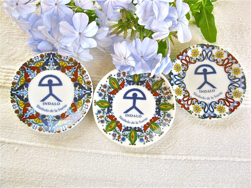 Indalo plates for luck