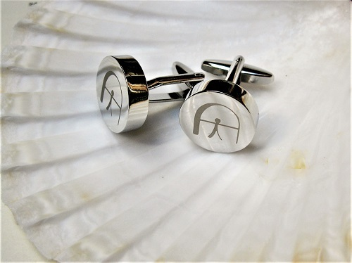 Lucky Indalo cufflinks for luck