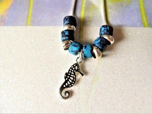 Lucky seahorse necklaces