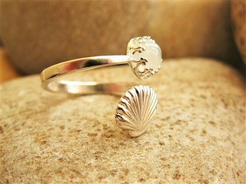Moonstone ring from Camino de Santiago