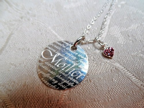 Mother necklace devoted kind