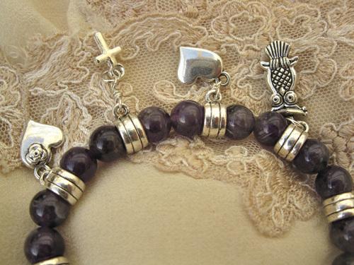 Mystical love charm bracelet