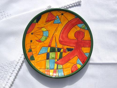 Spanish plate Indalo molino