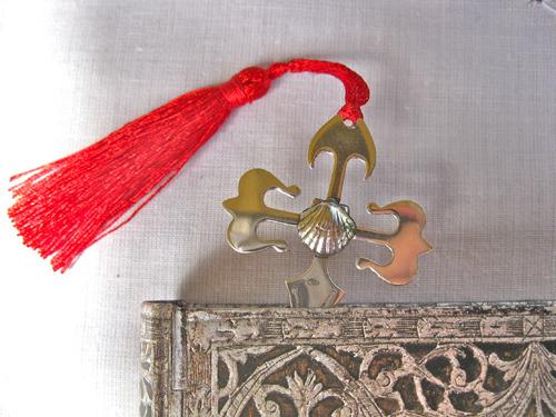 St James cross bookmark
